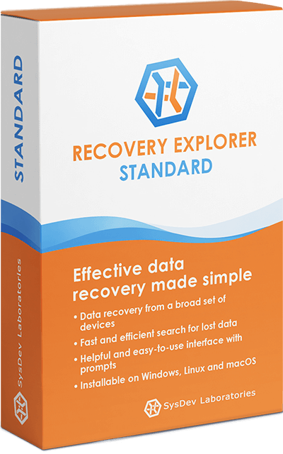 Universal software solution for speedy do-it-yourself data recovery